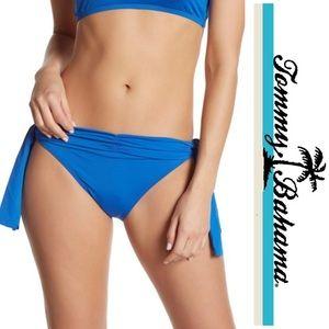 Tommy Bahama Hipster Bikini Tie Sides Blue